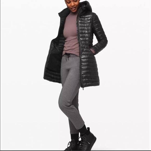 Lululemon Pack It Down Long Jacket *Shine